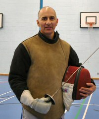 Brian Riseley Fencing Coach : X-Swords Prep Fencing Club